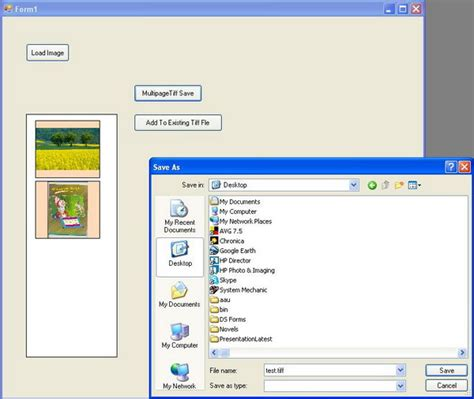 compress existing pdf save images into a multi page tiff file or add images to