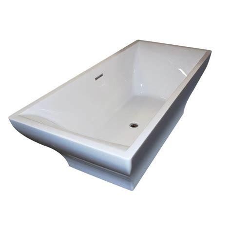 6 ft bathtub universal tubs garnet 6 ft acrylic center drain