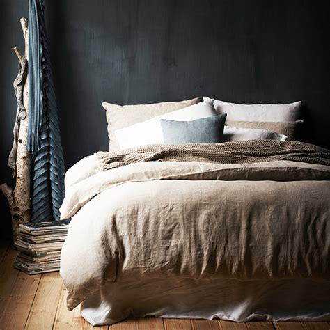 Washed Linen Duvet Cover King by Washed Linen Duvet Cover Celadon