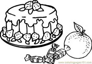 Food Coloring Pages Color Plate Sheetprintable  sketch template