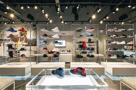 sneaker stores jordans get a look inside the air store in chicago sole