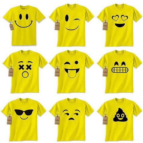 design emoji clothes funny t shirts hoodies sweatshirts for the whole family