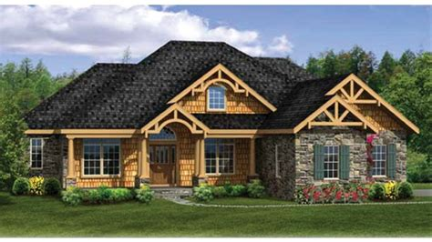 finished walkout basement craftsman ranch with finished walkout basement hwbdo76439