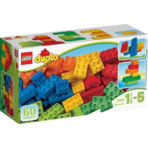 big lego bricks lego duplo basic bricks large 10623 toys zavvi com