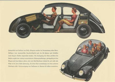 Vw Beetle Upholstery Thesamba Com Vw Archives Kdf Brochure