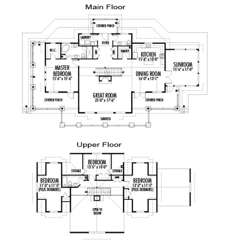 post and beam house plans floor plans cranbrook post beam retreats cottages cedar homes