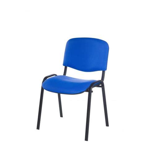 chaise de reunion jess m3 noir assemblable