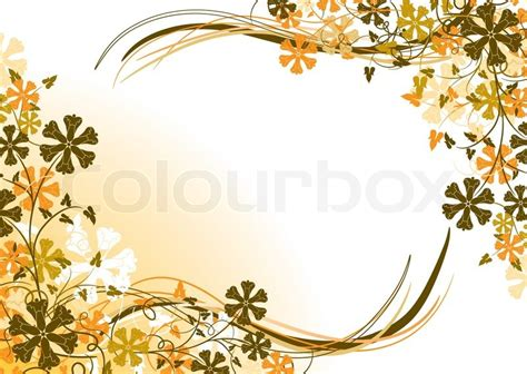 cornici powerpoint floral background frame vector stock vector