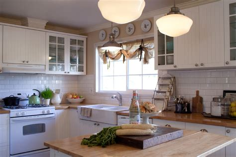 houzz cottage kitchens the painted cottage farmhouse kitchen los