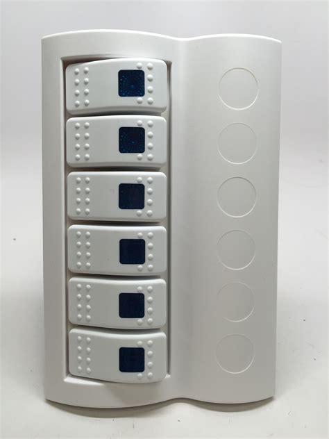 Switch Breaker marine boat waterproof white switch panel circuit breaker