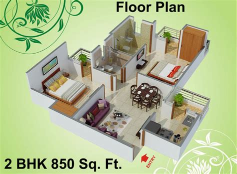 Floor Plans Under 600 Sq Ft 1115 sq ft 2 bhk 2t apartment for sale in charms india