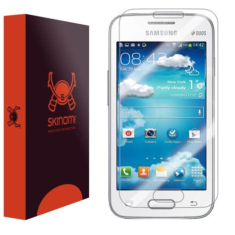 Samsung V V Plus skinomi techskin samsung galaxy v plus screen protector