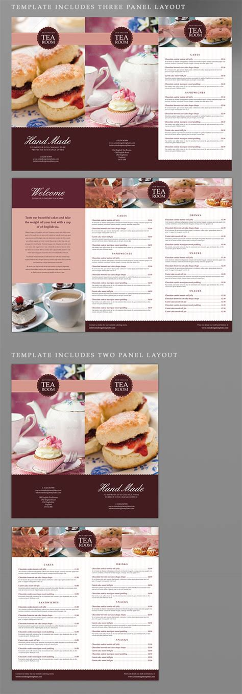 menu template indesign tea room coffee shop indesign menu template crs indesign