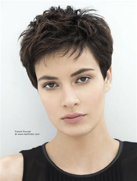 very short layered light brown hairstyles short layered pixie haircuts