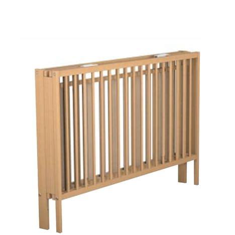 lit bebe pliant en bois