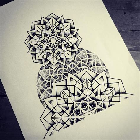 geometric zentangle tattoo 38 best geometric mandala leg tattoos images on pinterest