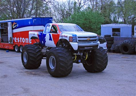 bigfoot monster truck for bigfoot monster truck becomes a chevrolet for the mlb