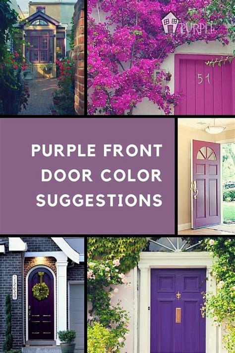 purple front door beauti tone hidden mountains joy studio design gallery