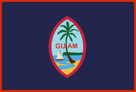 Guam Flag Pictures flags of the u s territory of guam the official site of