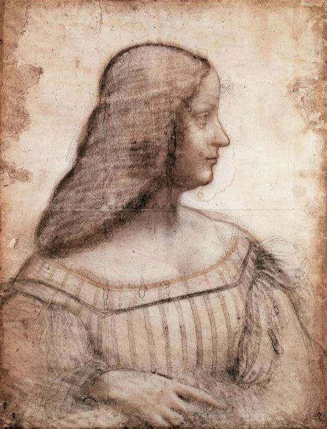 leonardo da vinci biodata quot portrait of isabella d este quot attributed to leonardo da
