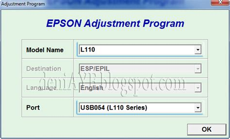 wic reset untuk epson l110 reset printer epson l110 rusman lukas