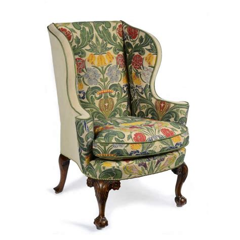 Fabric Armchairs Design Ideas Upholstered Wingback Chairs Homesfeed