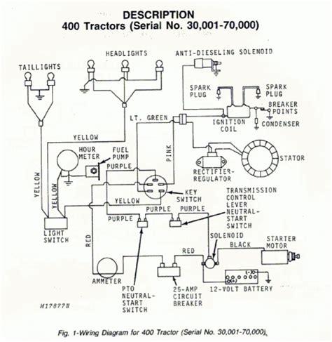 deere 2155 wiring diagram deere 445 wiring