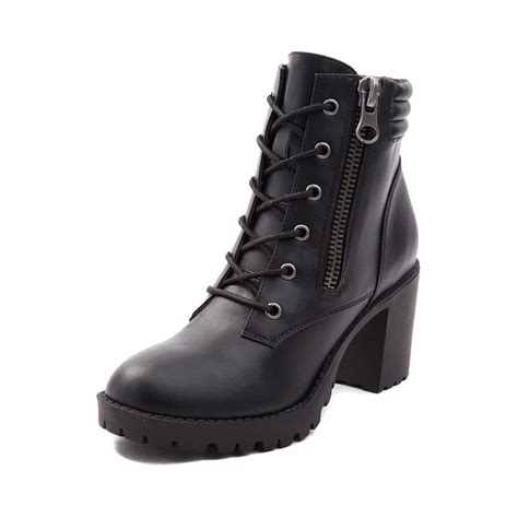 combat boots black womens madden combat boot black 132676
