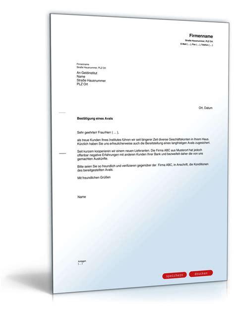 Offizieller Brief Pdf Bitte Um Aval Best 228 Tigung Vorlage Zum