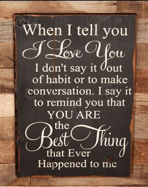 true home decor large wood sign when i tell you i love you farmhouse