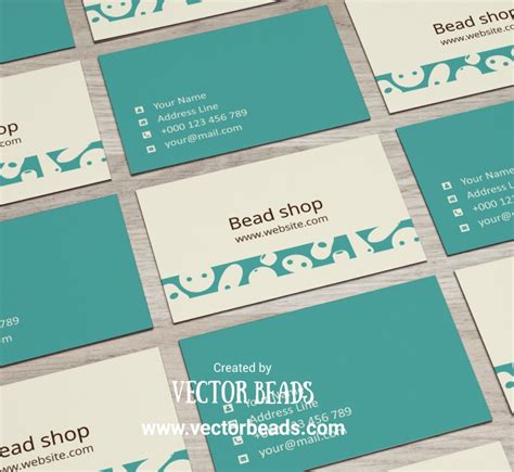free to print business cards templates for jewelry free business card template design vector