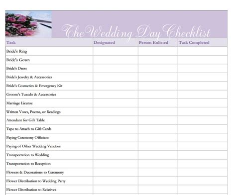 wedding planning checklist worksheets 11 best must wedding worksheets checklists images
