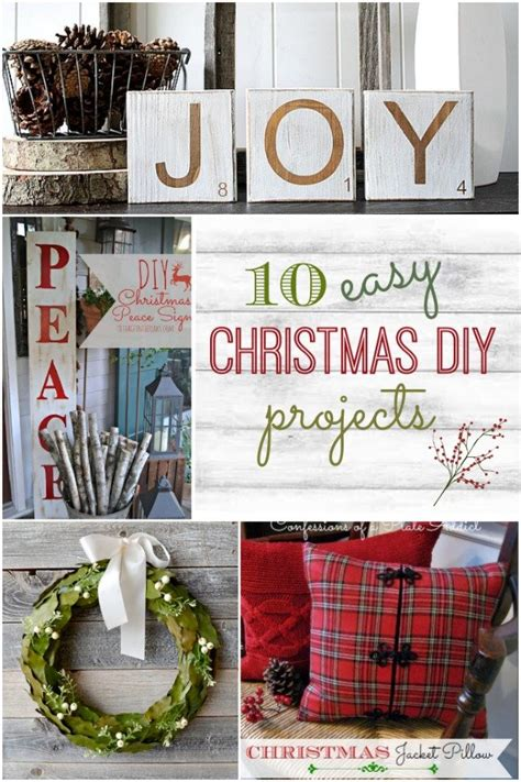 Simple Handmade Projects - 10 easy diy projects home stories a to z