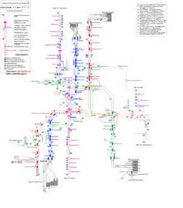 Схема путевого развития метрополитена санкт-петербурга