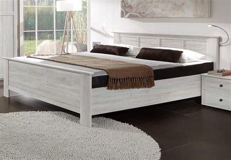 bett h henverstellbar kompaktbett chalet wei 223 eiche schlafzimmer bett 180x200 cm