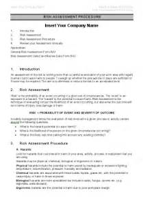 safety risk assessment sample page 3