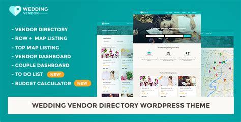 theme wordpress vendor vendor directory wordpress theme wedding vendor