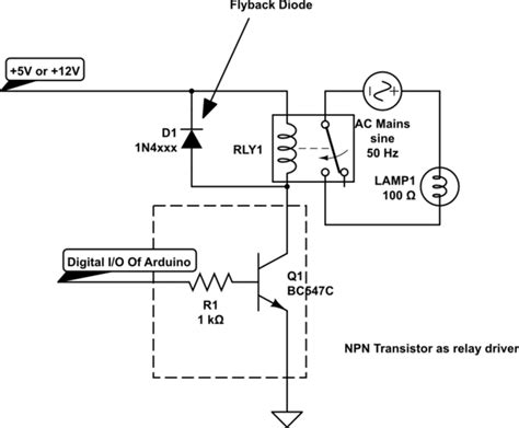 arduino transistor relay driver switches can arduino be used as a switch electrical engineering stack exchange