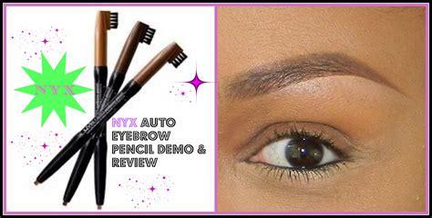 Pensil Alis Nyx perindah bentuk alis dengan nyx cosmetics auto eyebrow