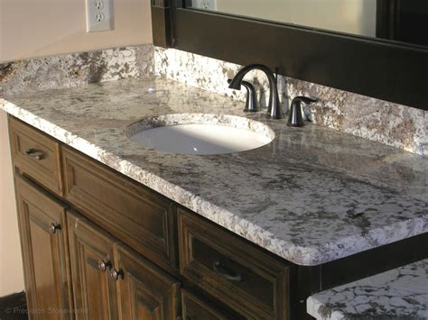 granite countertop bathroom bathrooms precision stoneworks