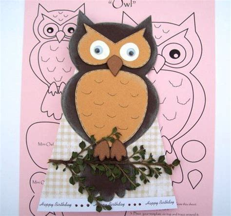 owl template for cake 51 best v v images on animals crafts and couture