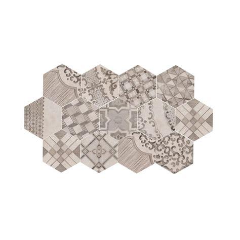 Amazing Piastrelle Bagno Gres Porcellanato #2: Clays-21x182-marazzi-decoro-cementine-freddo-piastrella-esagonale-in-gres-porcellanato-cottonlava.jpg