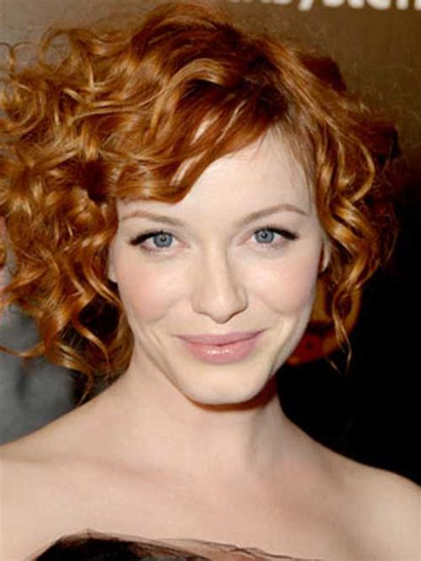curly hairstyles oval face shape marvelous looking short hairstyles for curly hair ohh my my