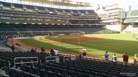 Target 1 Section by Target Field Section 103 Rateyourseats