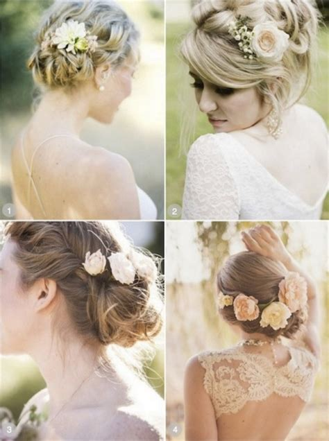 Vintage Wedding Hair With Flowers by Ideas For An Amazing Wedding Hairstyle Find
