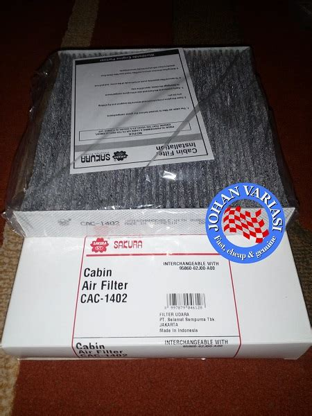 Filter Ac Bio Guard Innova 2016 jual harga filter ac carbon honda jazz i dsi 2004 2007