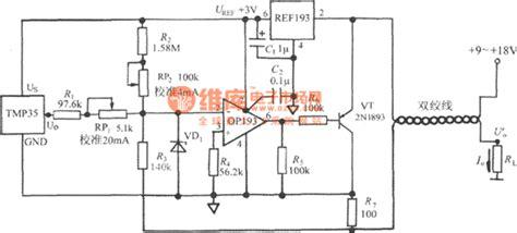 integrated circuit sensor for temperature 4 20ma temperature transmitter circuit using voltage output integrated temperature sensor