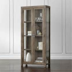 Gray Wood Nightstands Morris Ash Grey Bookcase Crate And Barrel