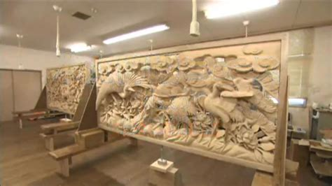 woodworking japanese wood carving stunning sculptures