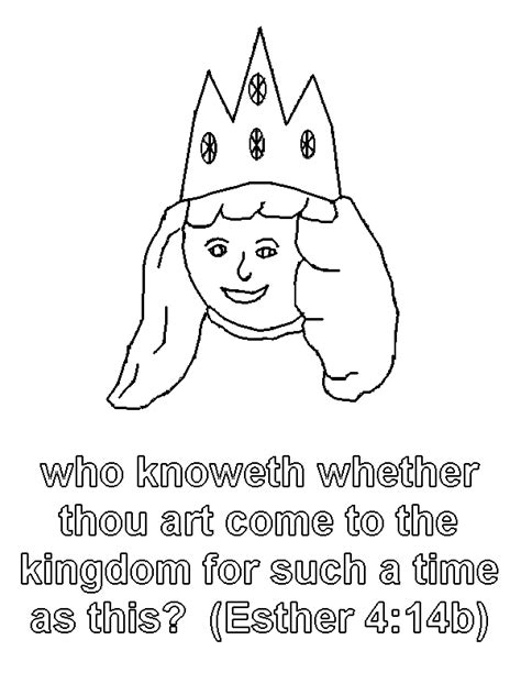 coloring pages for esther in the bible free coloring pages of bible stories esther